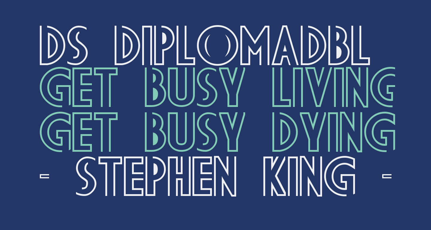 DS DiplomaDBL  Bold