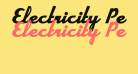 Electricity Personal Use Regular