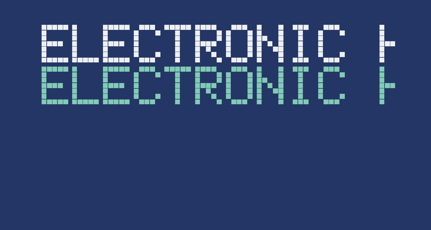 Electronic Highway Sign