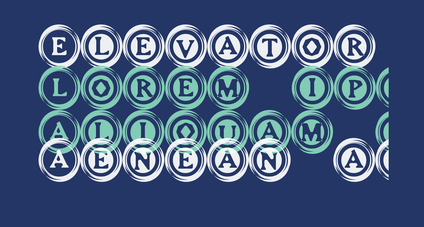 Elevator Buttons Two