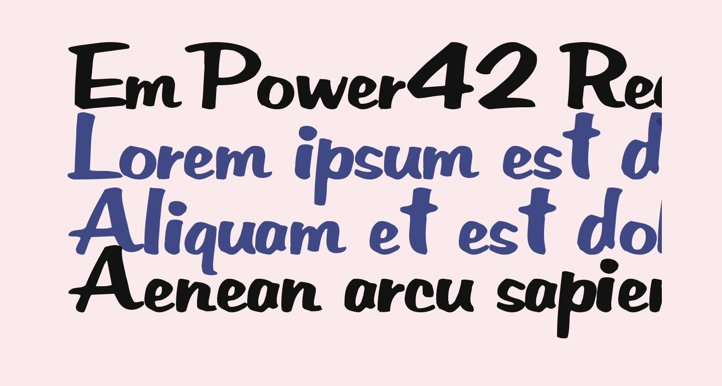EmPower42 Regular