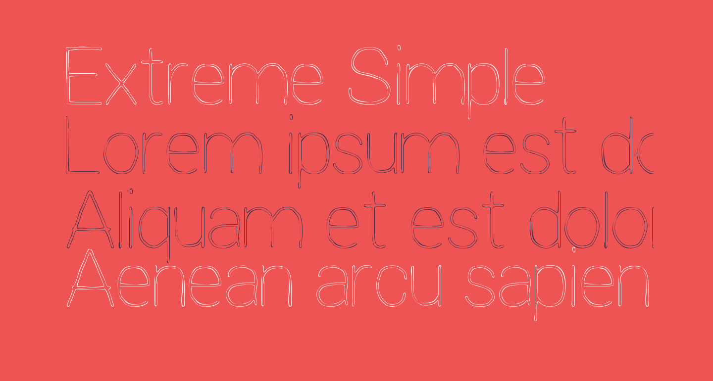 Extreme Simple