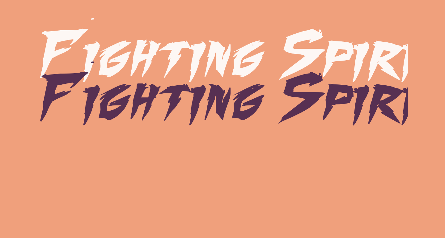 Fighting Spirit TBS Bold