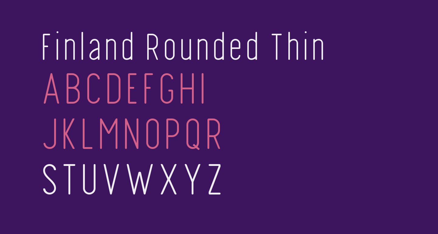 Finland Rounded Thin