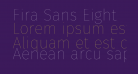 Fira Sans Eight