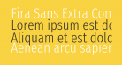 Fira Sans Extra Condensed Light