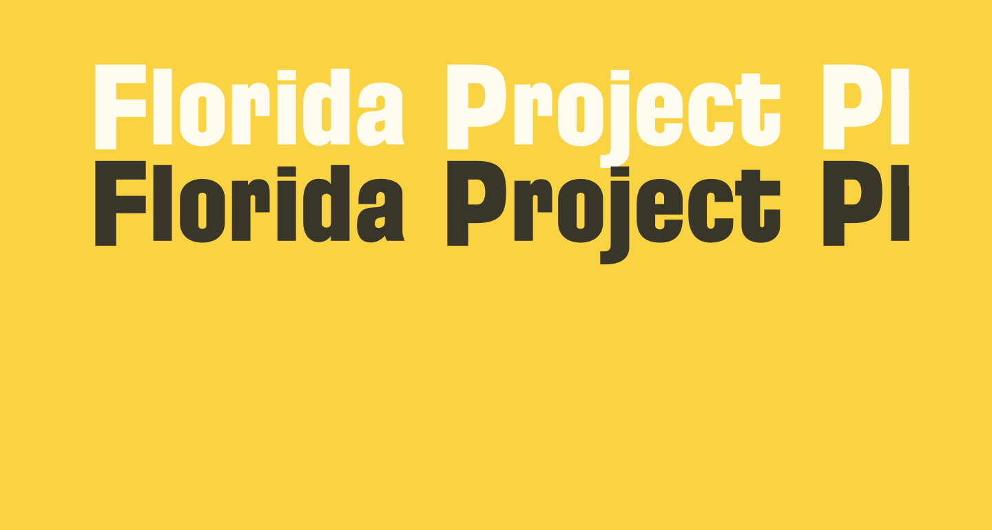 Florida Project Phase One