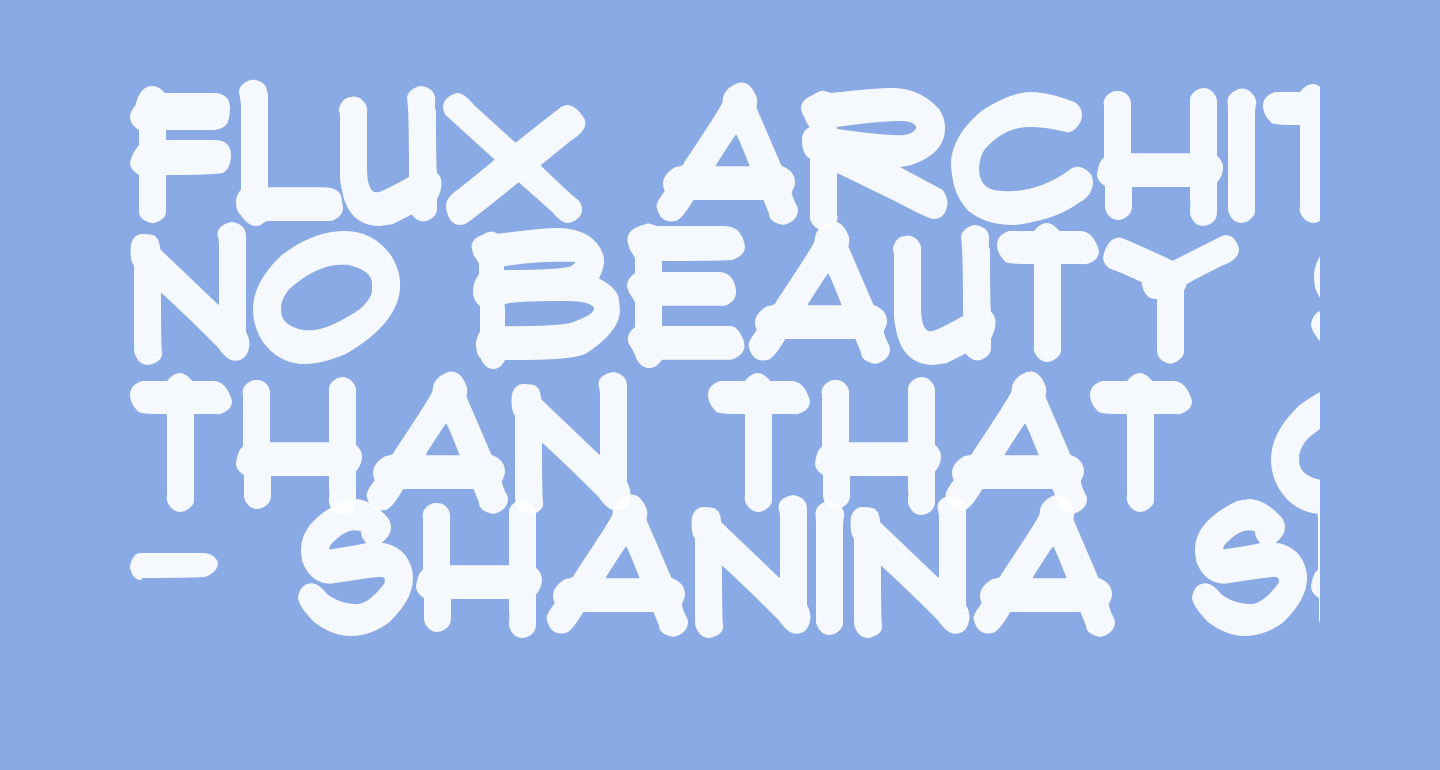 Flux Architect Bold