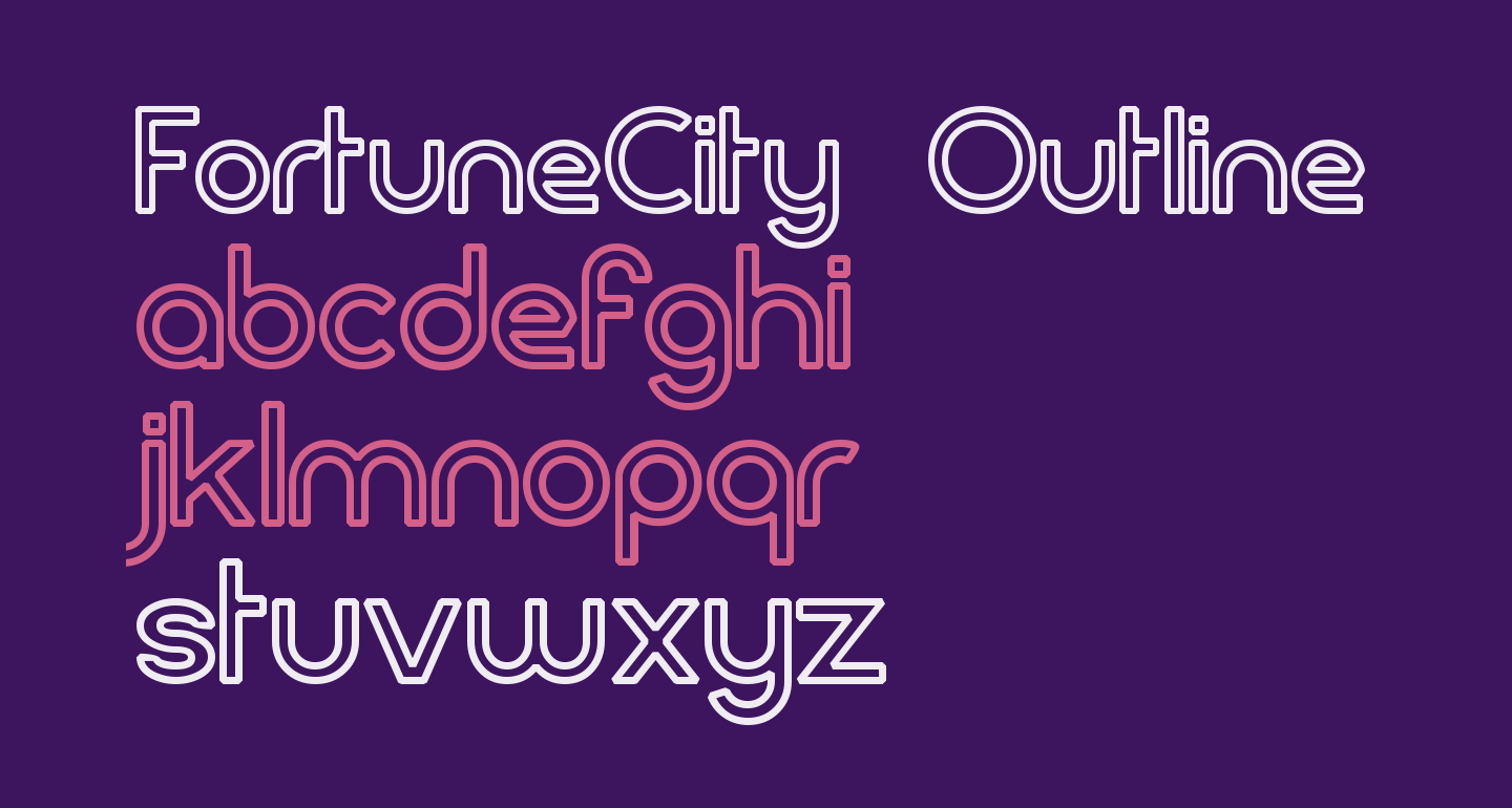 FortuneCity Outline