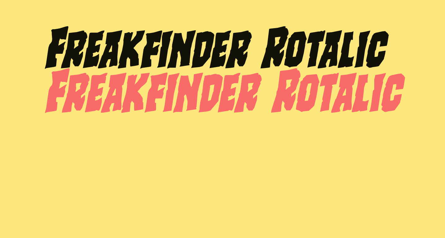 Freakfinder Rotalic