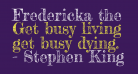 Fredericka the Great
