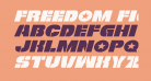 Freedom Fighter Expanded Italic