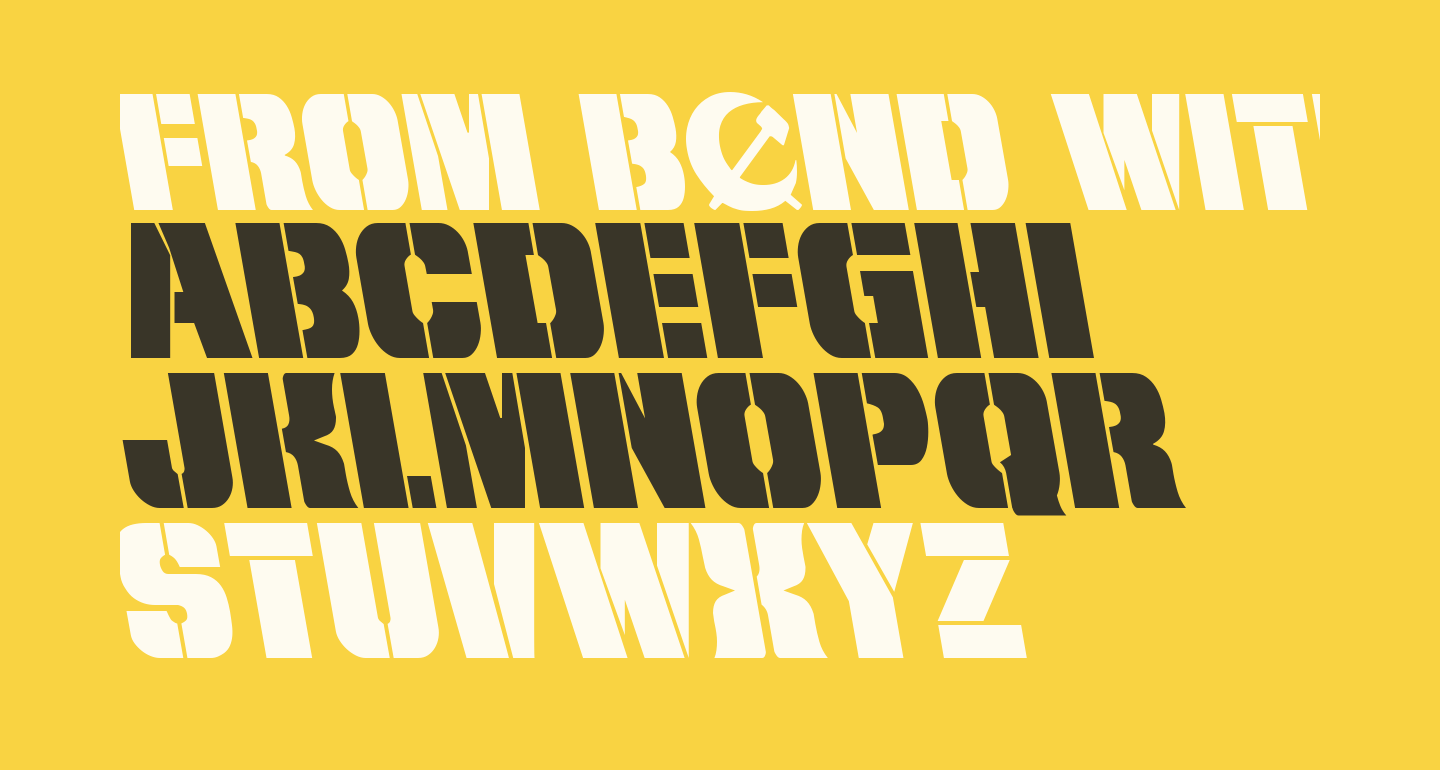 From BOND With Love Leftalic