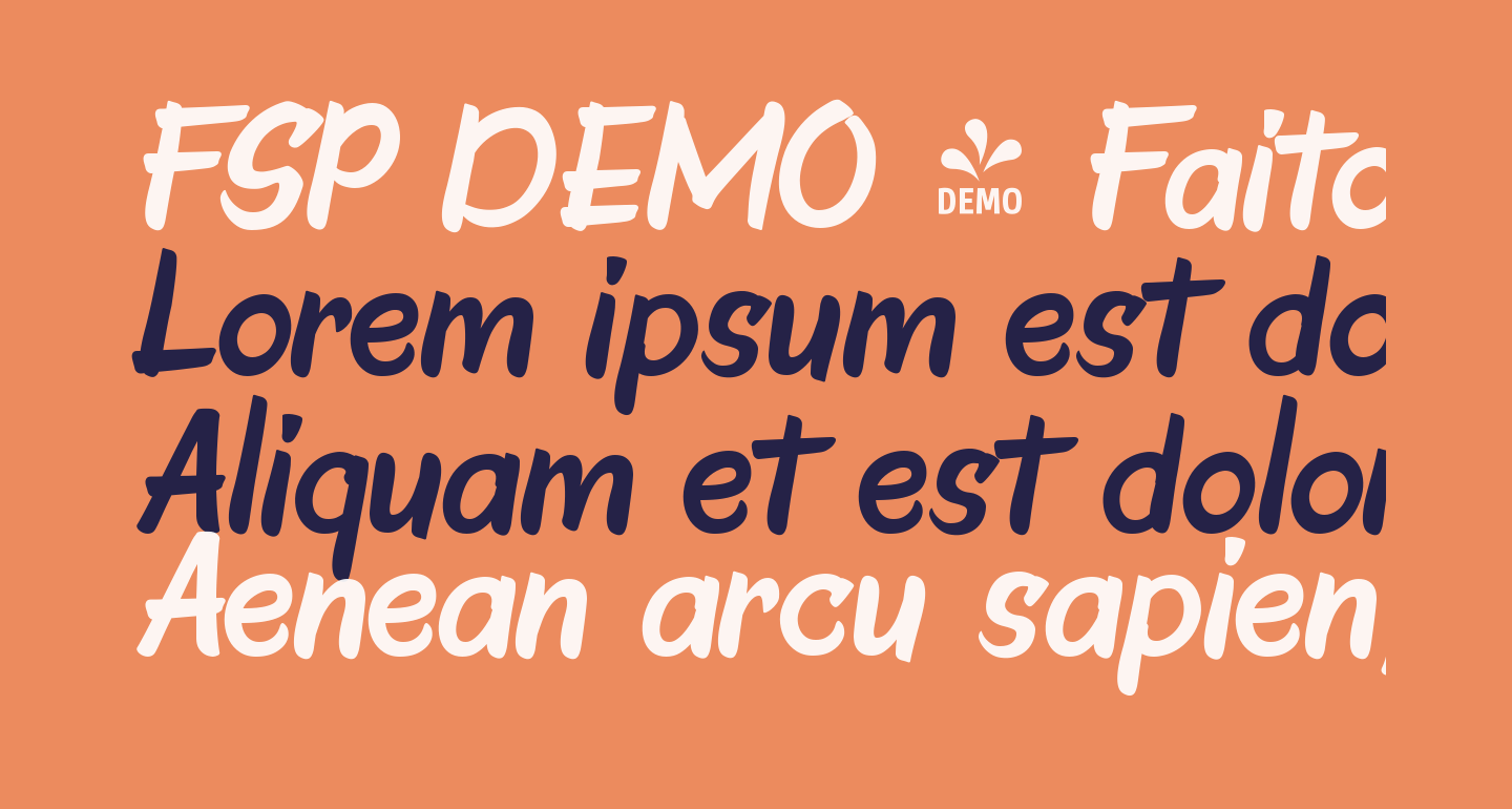 FSP DEMO - Faito Regular