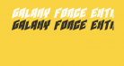 Galaxy Force Extra-Expanded Italic