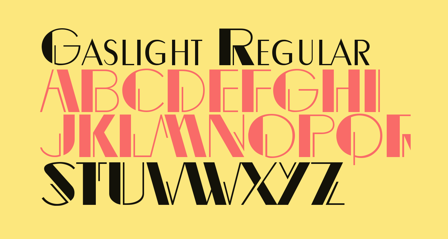 Gaslight Regular