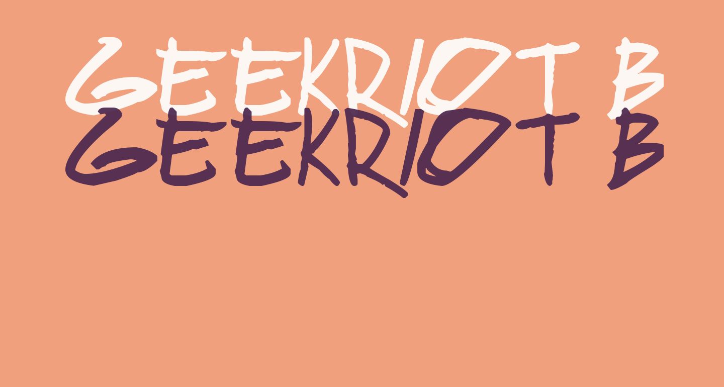 geekriot Bold