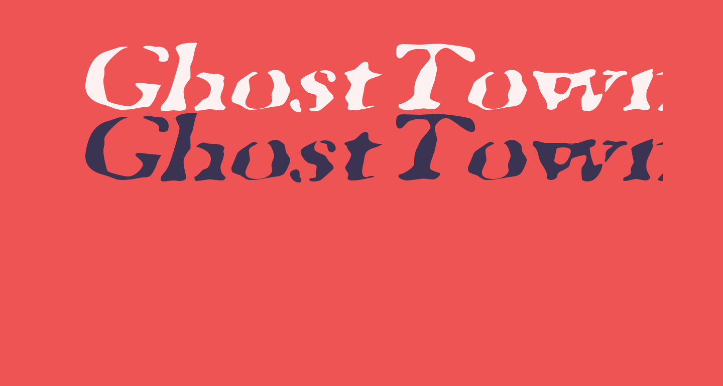 GhostTownExtended Italic
