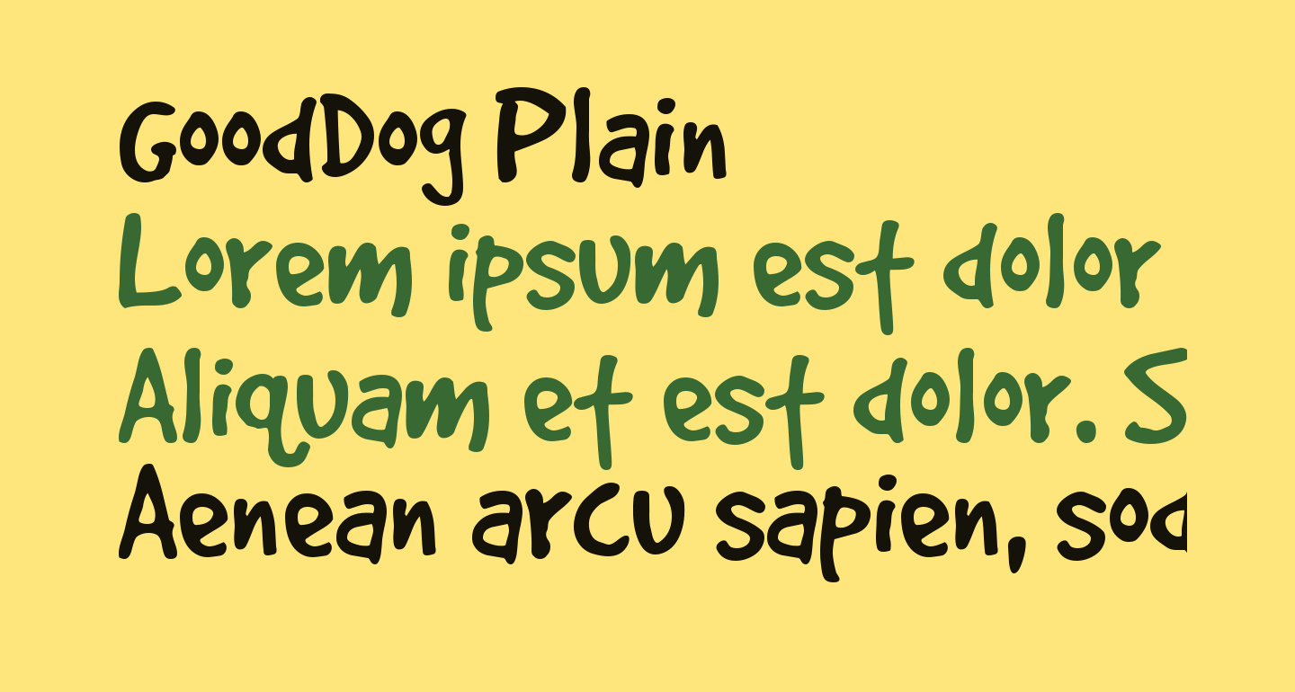 GoodDog Plain