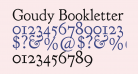 Goudy Bookletter 1911
