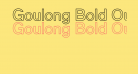 Goulong Bold Outline
