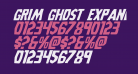 Grim Ghost Expanded Italic