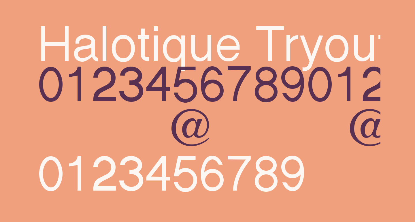 Halotique Tryout
