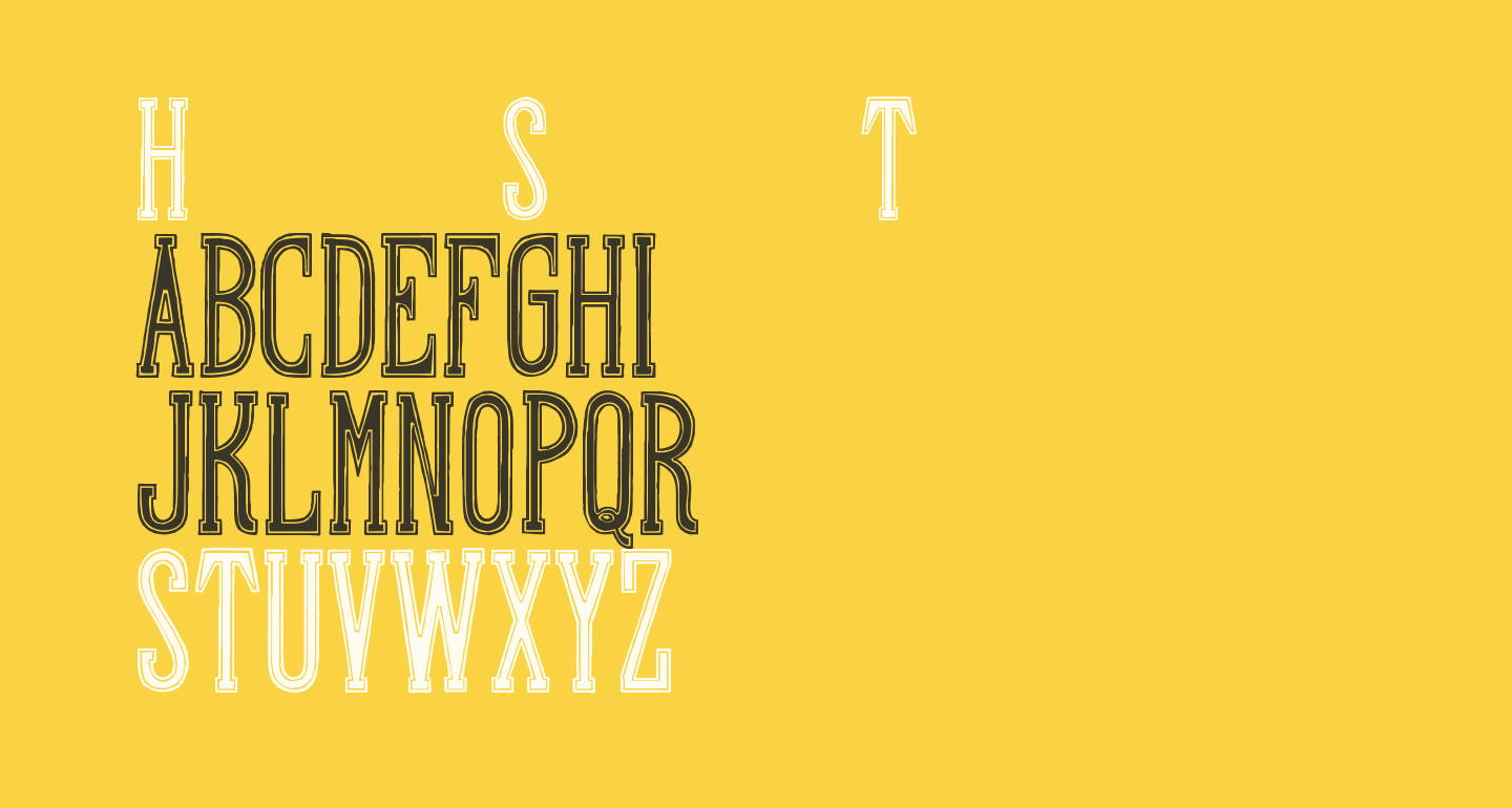 Hand Shop Typography A20_demo