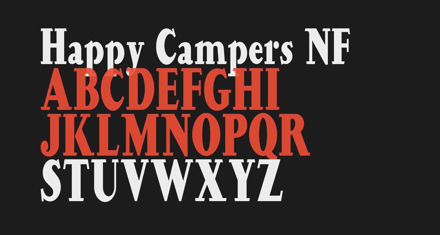 Happy Campers NF