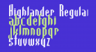 Highlander Regular