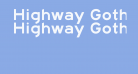 Highway Gothic Expanded
