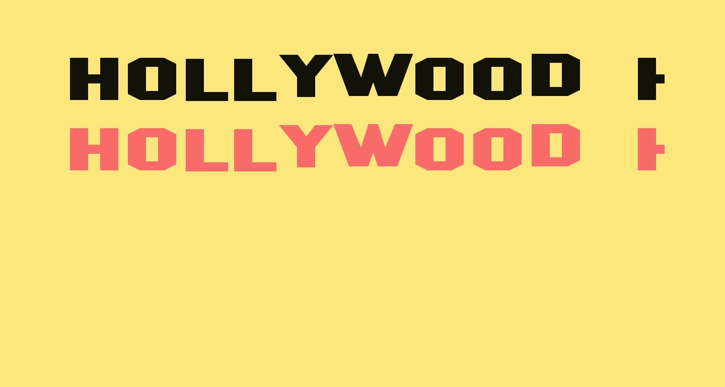 Hollywood Hills Expanded