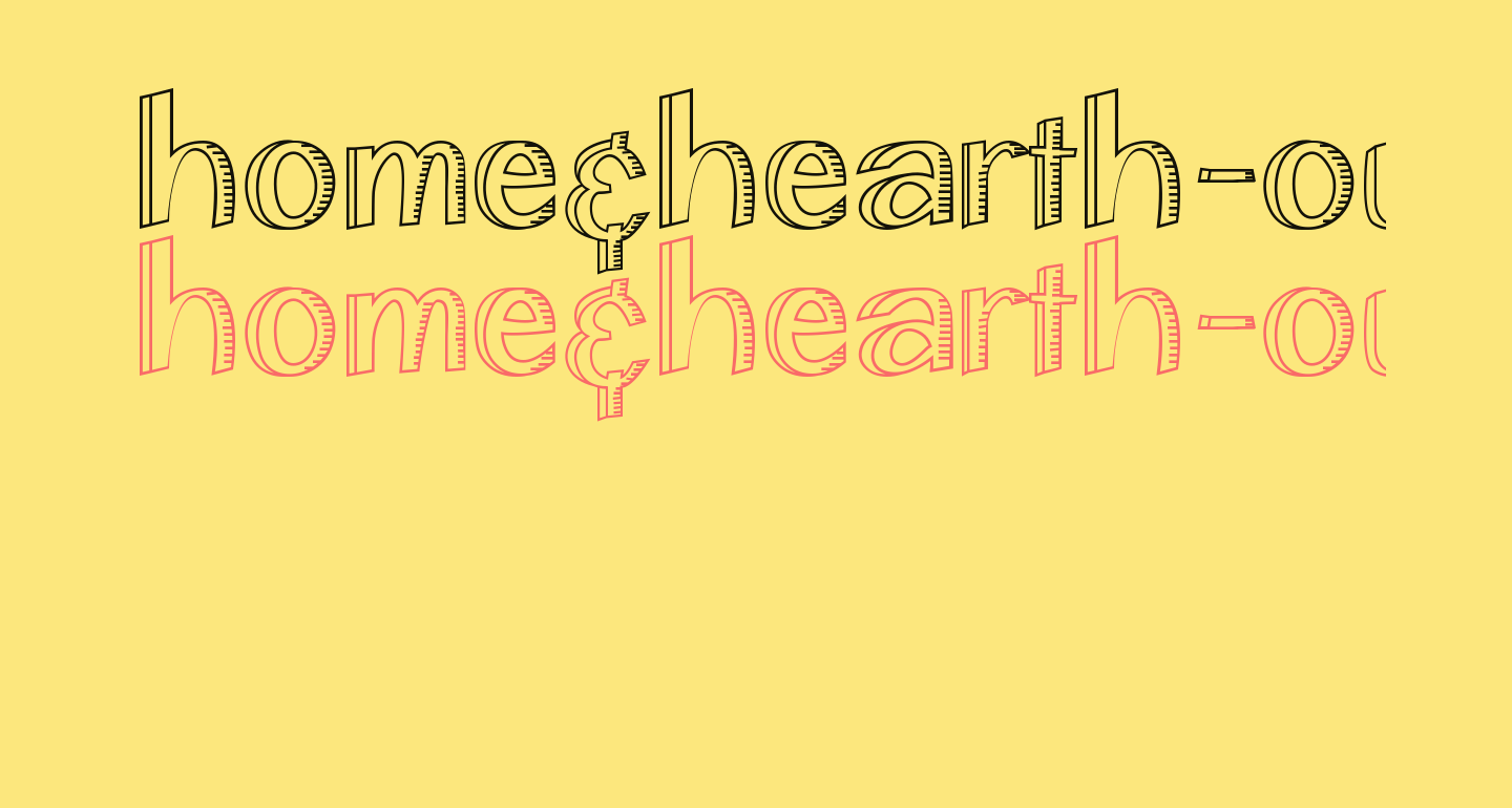 Home&Hearth-OutlineBold