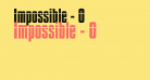 Impossible - 0