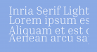 Inria Serif Light