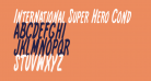 International Super Hero Cond