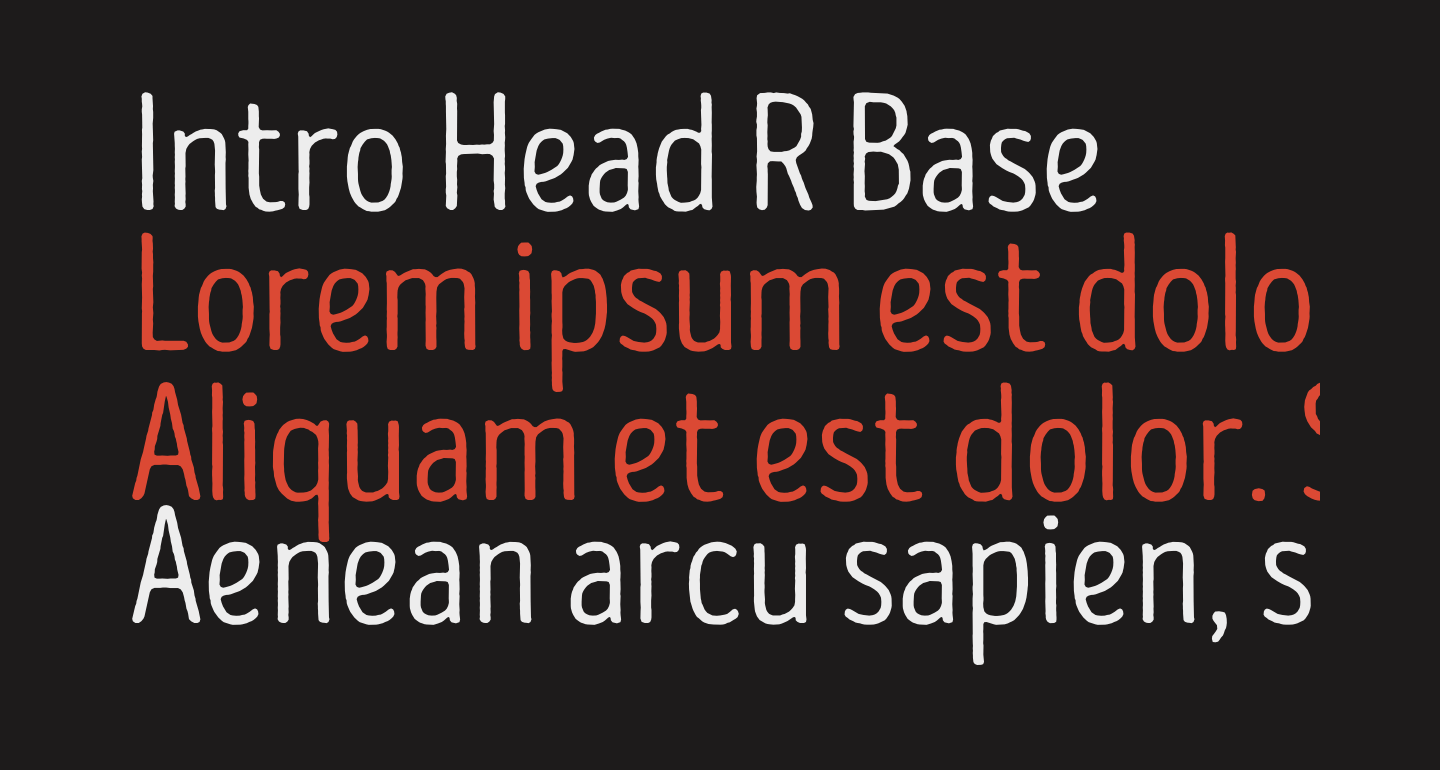 Intro Head R Base