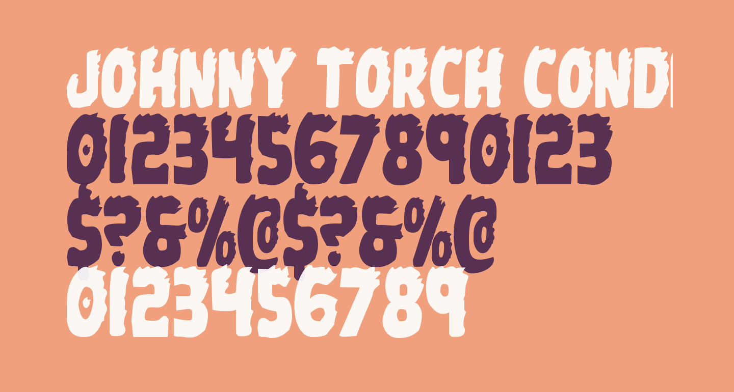 Johnny Torch Condensed