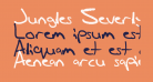 Jungles Severly Crappy Font