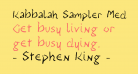 Kabbalah Sampler Medium