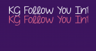 KG Follow You Into the World