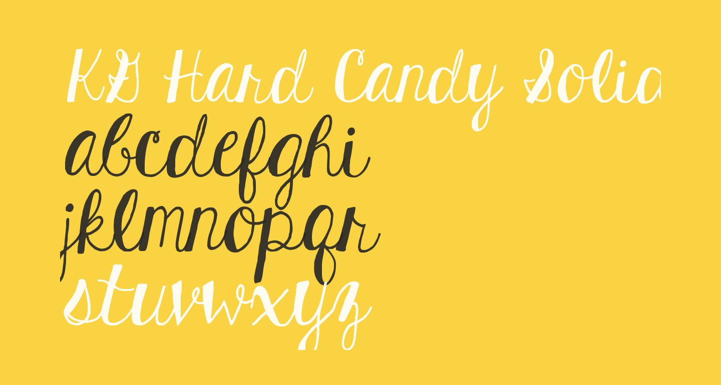 KG Hard Candy Solid