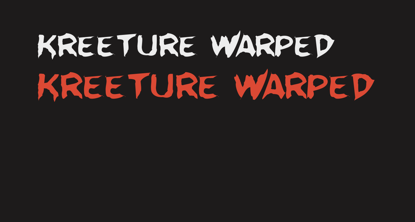 Kreeture Warped