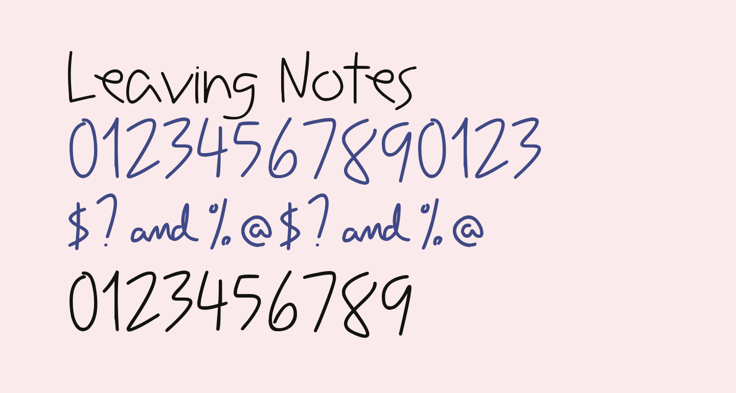 Leaving Notes