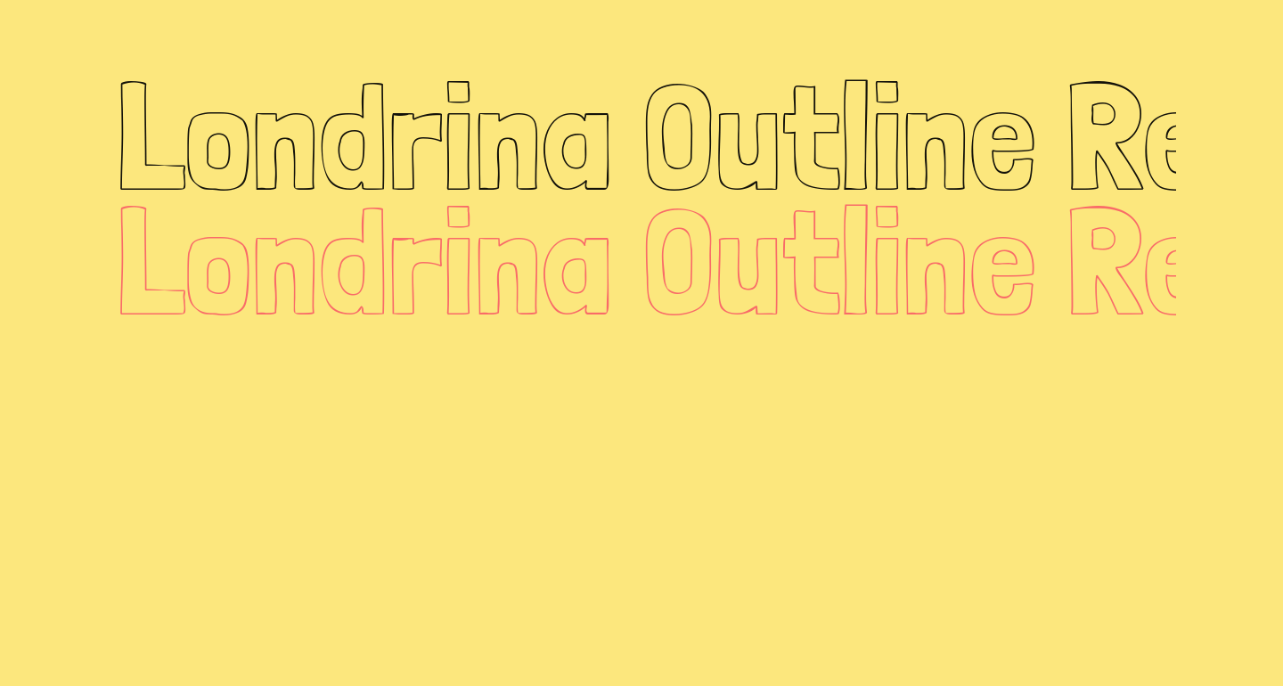 Londrina Outline Regular