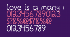 Love Is A Many Complicated Thing