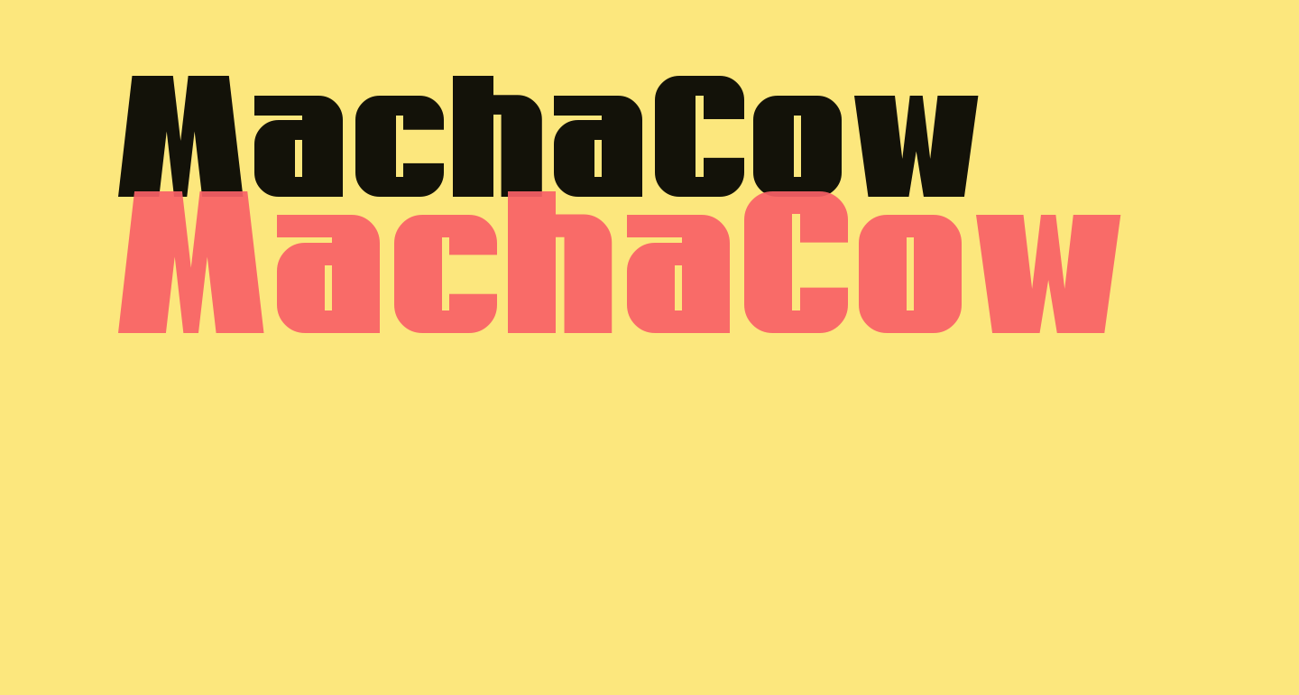 MachaCow