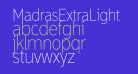 MadrasExtraLight