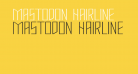 Mastodon Hairline