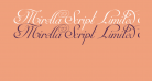 Mirella Script Limited Free Version.vfb